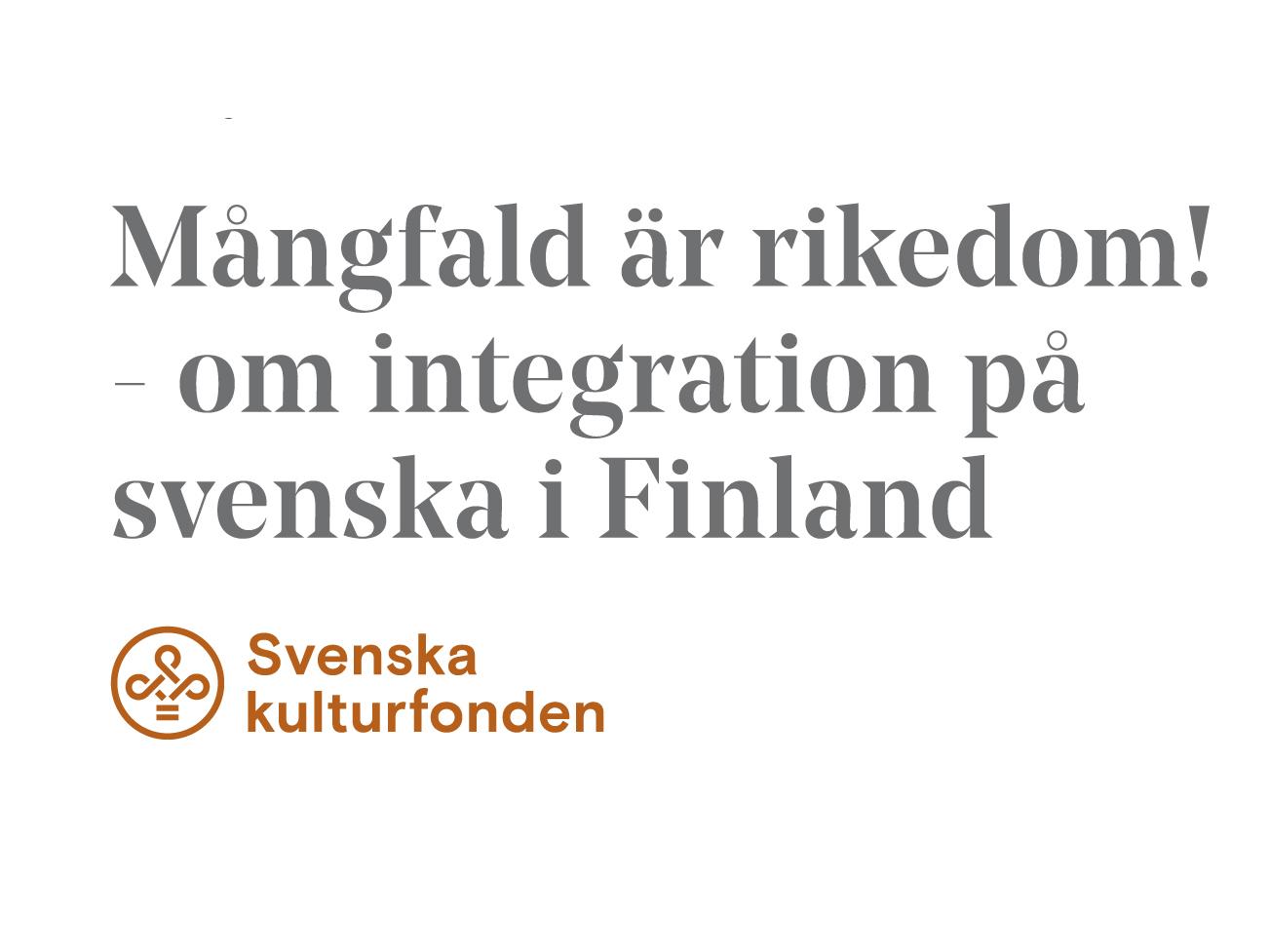 Seminarium 18.11 & 26.11: Mångfald är rikedom – om integration på svenska