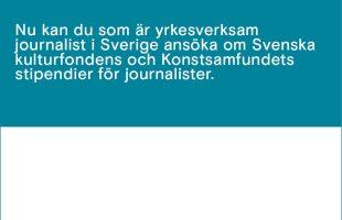 Språkbadsstipendier för journalister