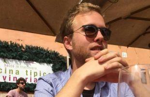 Simon åkte på praktik till Rom