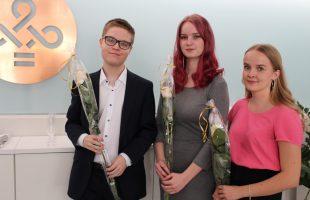 Juuli Vainio från Lahtis vann uppsatstävlingen