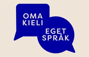 Kulturfonden är med i kampanjen Eget språk