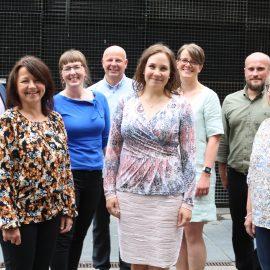 Gruppbild på Kulturfondens ombudsmän